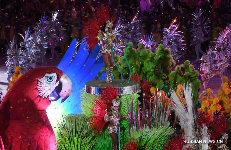 """На стадионе """"Маракана"""" состоялась церемония закрытия Игр в Рио"""