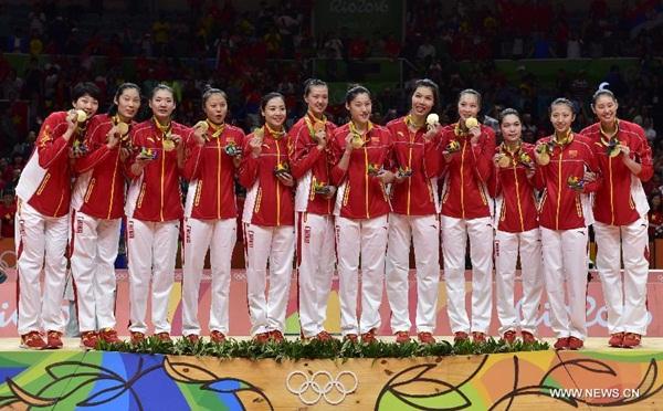 الصين تحرز ذهبية الكرة الطائرة للسيدات في أولمبياد ريو