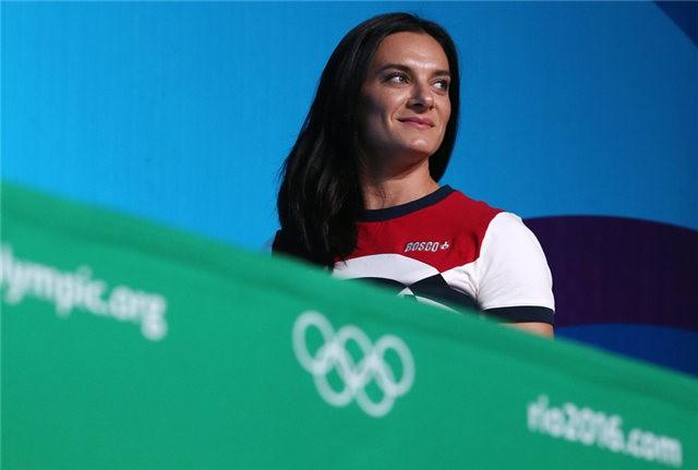 La russe Isinbayeva annonce sa retraite sportive