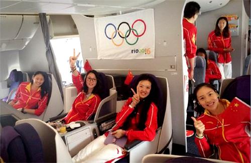 Китайская женская сборная по волейболу покинула Рио