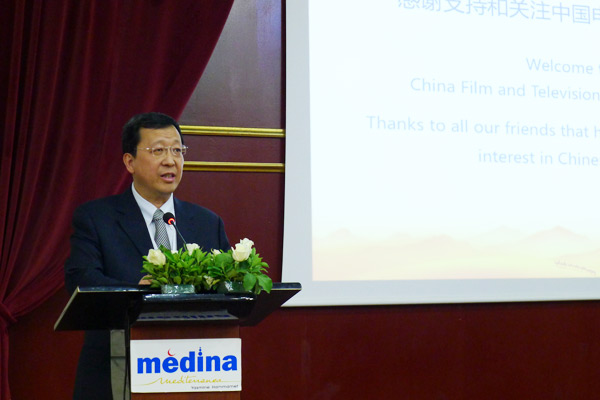 On May 7, 2016 during the Tunis TV Festival, Vice President Tang Shiding of China International Television Corporation (CITVC) led a delegation to China-Arab TV (CATV) in Dubai.