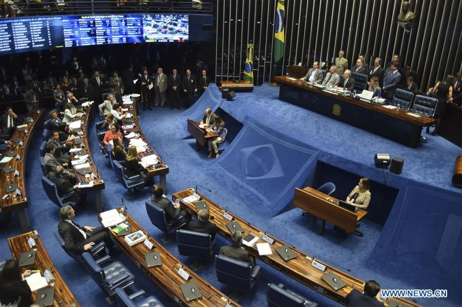 Senado de Brasil inicia fase final de juicio político a presidenta Rousseff
