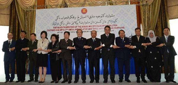 لقاء بين مسؤولين ثقافيين من الصين والآسيان في بروناي