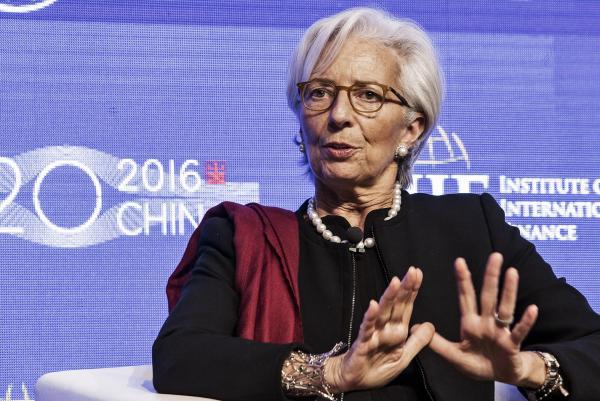Кристин Лагард, Глава МВФ