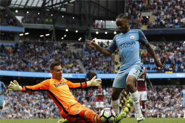 English Premier League: Sterling scores brace as Citizens stay perfect under Guardiola
