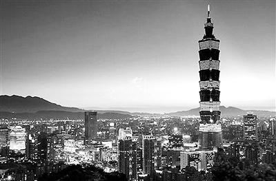 台北旅游风光。