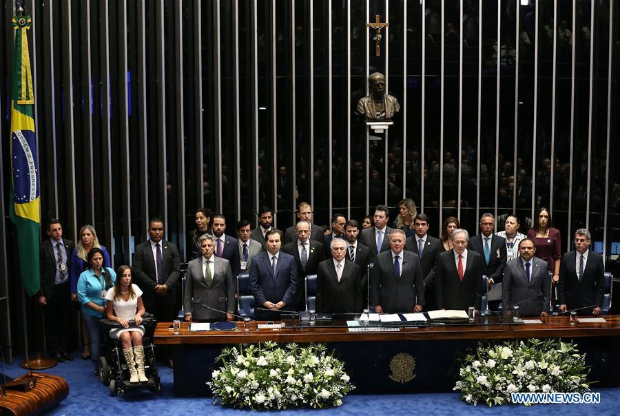 Temer asume como presidente de Brasil tras destitución de Rousseff
