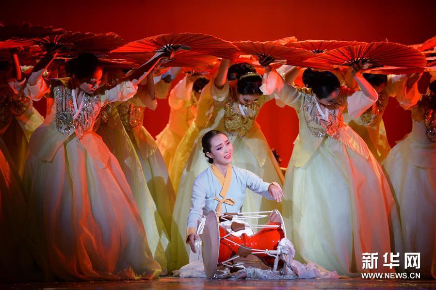 Korean ethnic dance blossoms in Beijing
