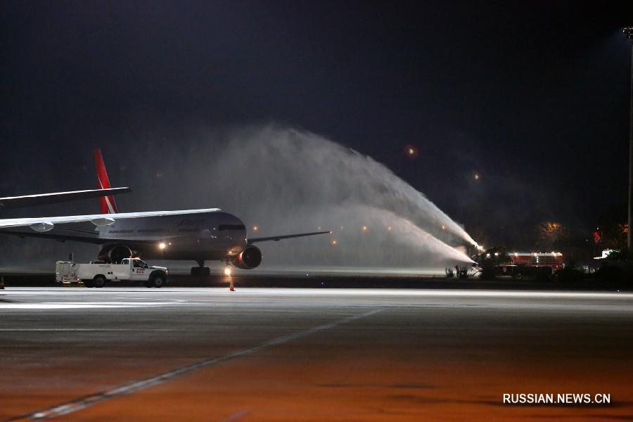 Первый после снятия запрета российский чартерный авиарейс прибыл в Турцию