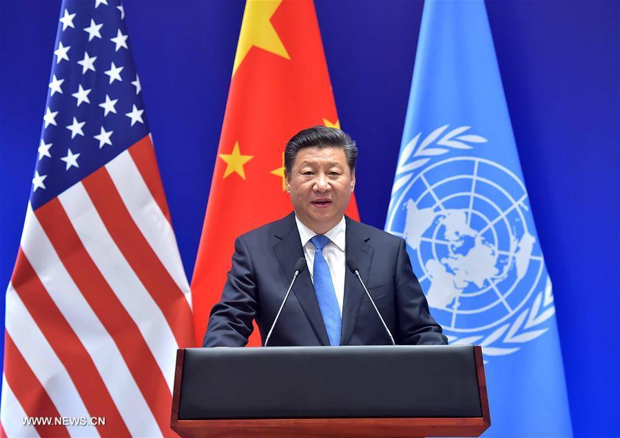 La Chine et les Etats-Unis soumettent à Ban Ki-moon leurs instruments d