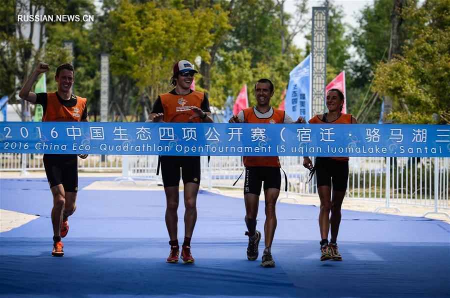 Открытый чемпионат по эко-квадратлону в провинции Цзянсу