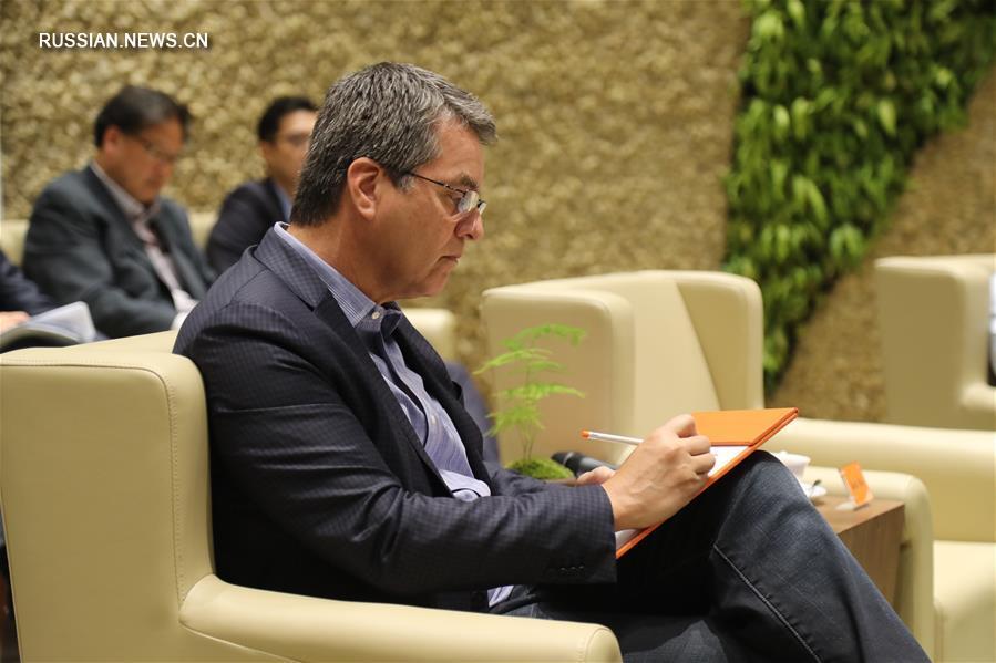 Глава ВТО посетил штаб-квартиру Alibaba Group в Ханчжоу