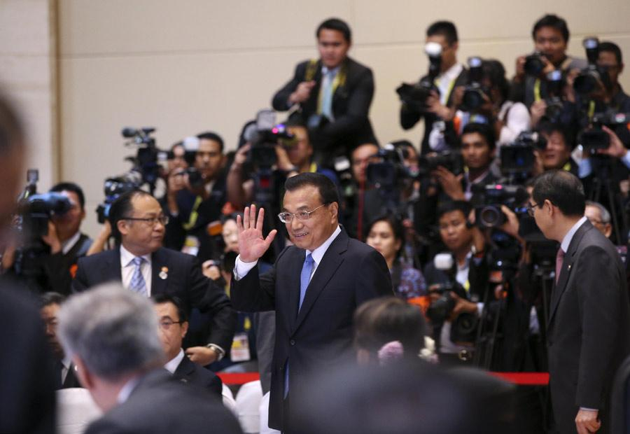 Chinese Premier Li Keqiang attends the 19th ASEAN-China Summit in Vientiane, Laos, Sept 7, 2016. (Photo/Xinhua)