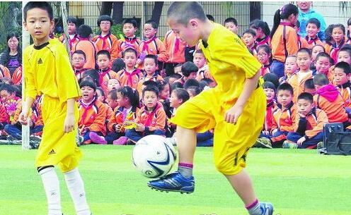康乐小学举办校园足球联赛