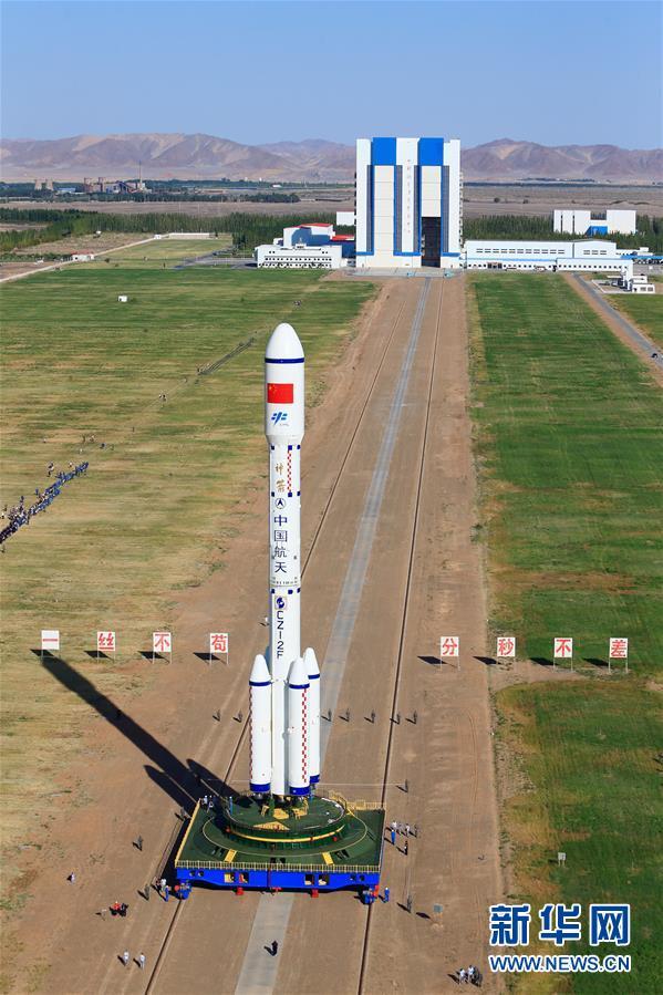 """На космодрое """"Цзюцюань"""" готовятся к запуску орбитального модуля """"Тяньгун-2"""""""