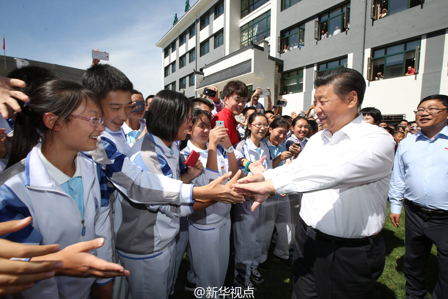 To mark China