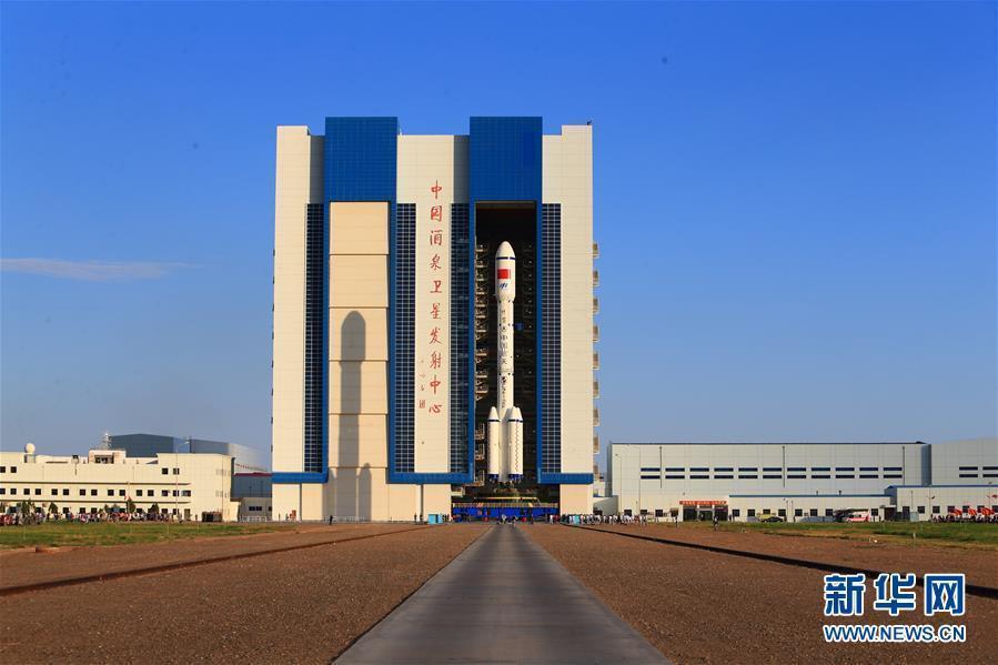 """Двухступенчатая ракета-носитель """"Чанчжэн-2F"""" выведет на орбиту модуль """"Тяньгун-2"""""""