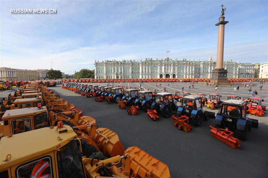 Дорожные службы Петербурга готовятся к зиме