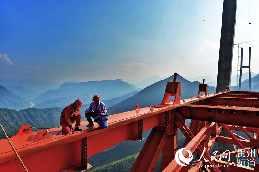 Le pont Qingshuihe aide Weng