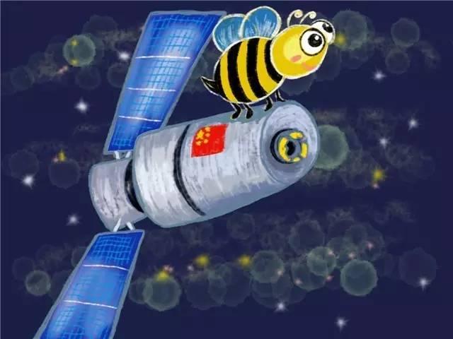 """""""小蜜蜂""""实物 (图片来自网络) """"天极""""望远镜全称是""""天极""""伽玛暴偏振探测仪(英文名POLAR),被科学家昵称为""""小蜜蜂"""",外观像一个方形的蛋糕,它将""""趴在""""天宫二号顶部,用它复杂的""""眼睛""""寻找宇宙中最闪耀的爆炸——伽玛射线暴,帮助人类理解这激烈又短暂的瞬间灿烂是如何产生的。它还是""""天宫二号""""空间实验室搭载的所有"""