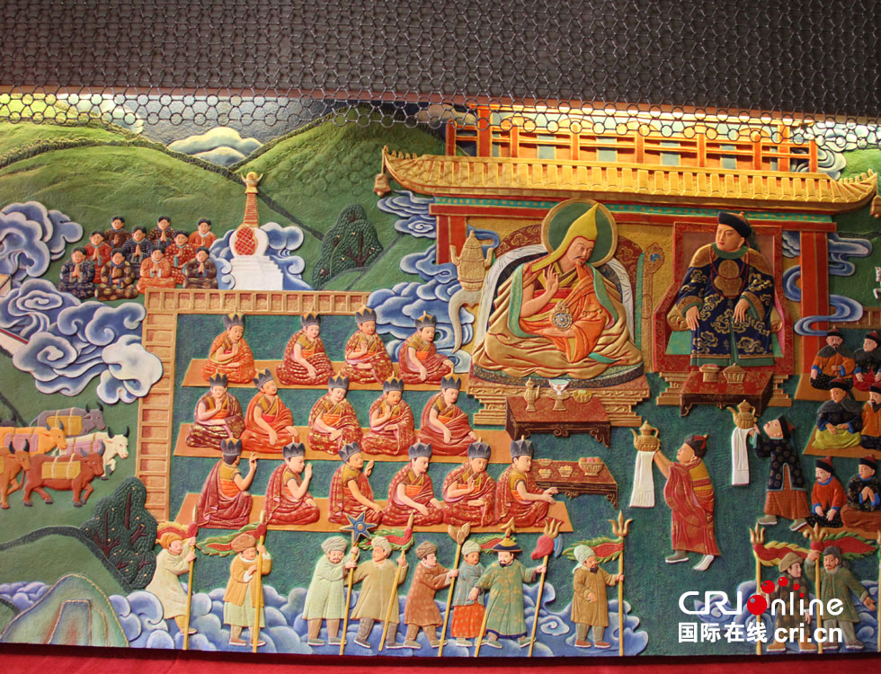 Potala Palace displays best collections of cultural relics