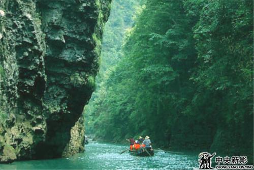"""以""""险""""见长的绵竹峡:植被四季长青、飞瀑涌泉、奇观迭现"""