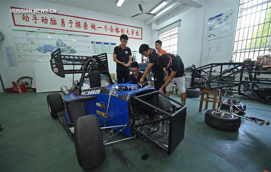 Напечатанный на 3D-принтере гоночный автомобиль примет участие в гонке в Чанша
