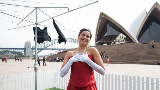 """女高音歌唱家斯泰茜·阿洛姆将在悉尼歌剧院表演""""无声歌剧"""""""