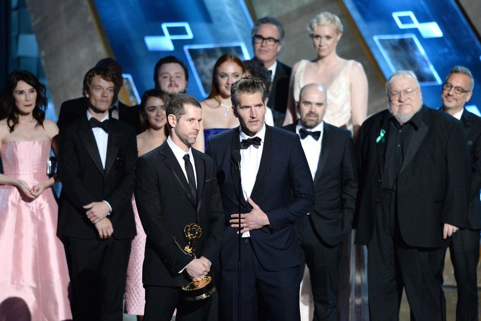 Repiten su triunfo en el Emmy