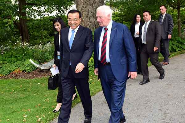 China, Canada announce free-trade talks