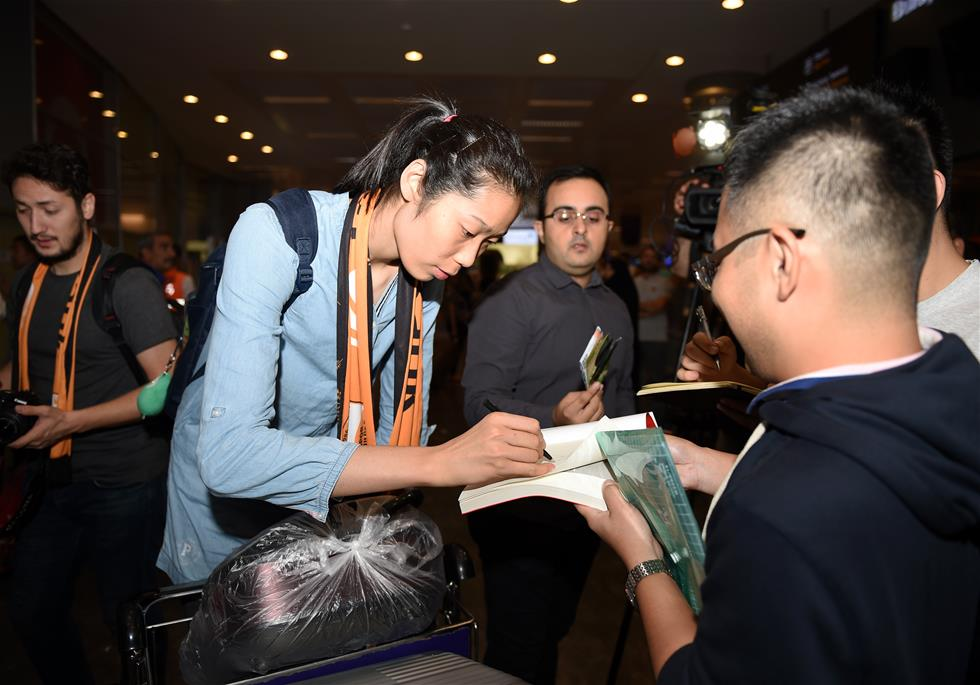 Olympic gold medalist Zhu to play for club side Vakifbank Istanbul
