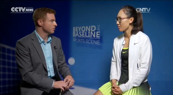 Interview with Zheng Saisai: Chinese confident she can continue to improve her play