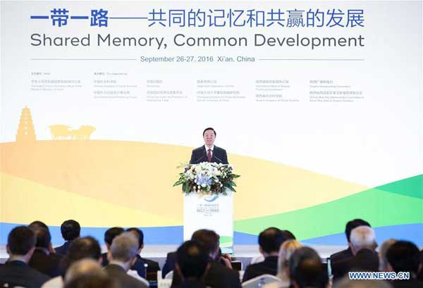Liu Qibao, a member of the Political Bureau of the Communist Party of China (CPC) Central Committee and the Secretariat of the CPC Central Committee, who is also head of the CPC Central Committee