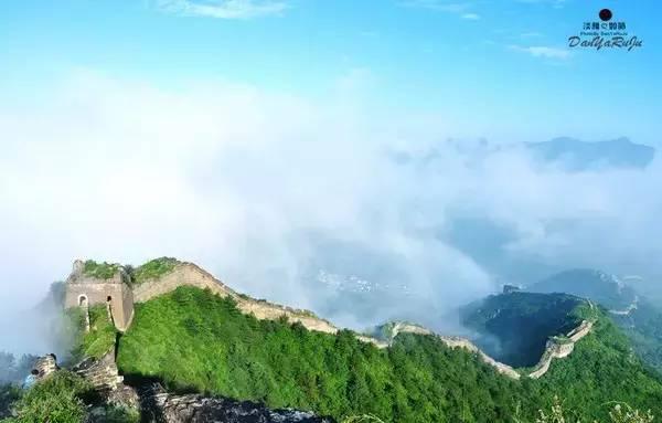 高高山上一条龙,不亲历,怎么懂得长城的建造,是个神话.