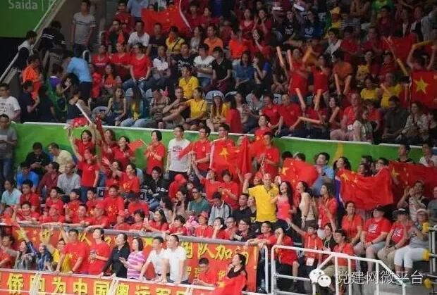 中国女排夺得里约奥运会冠军