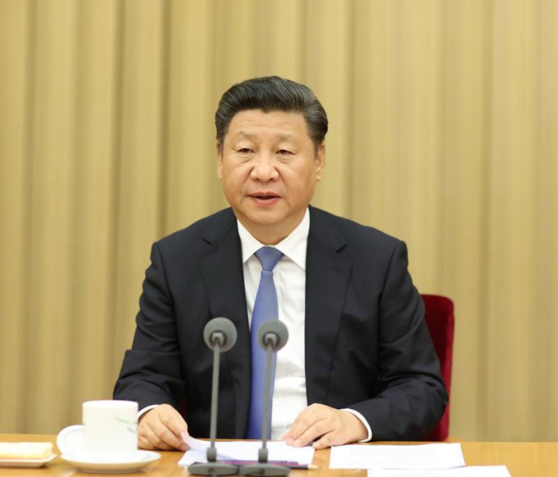 9月29日,中共中央在北京举行学习《胡锦涛文选》报告会。中共中央总书记、国家主席、中央军委主席习近平在会上发表重要讲话。
