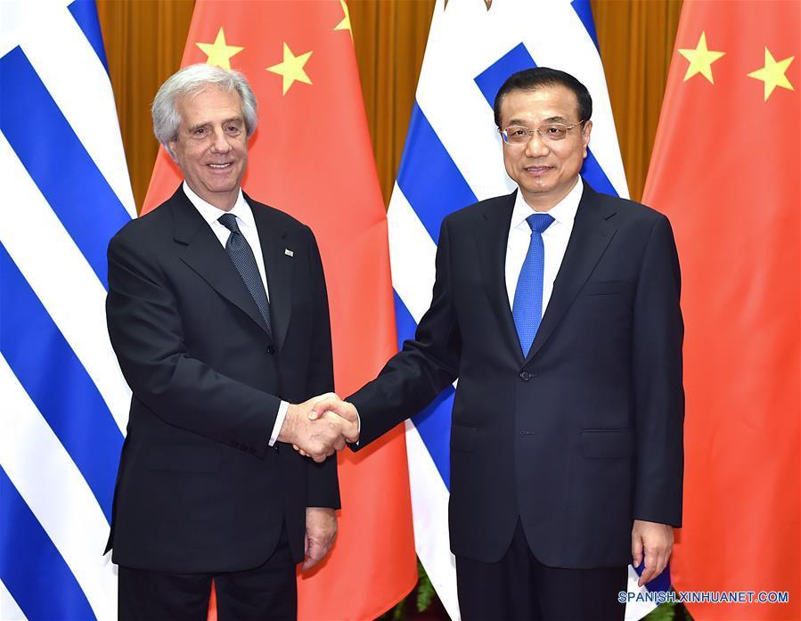 Vázquez está reunido con Xi Jiping