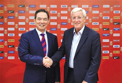 China has secured the services of World Cup-winning coach Marcello Lippi to try and help the beleagured men