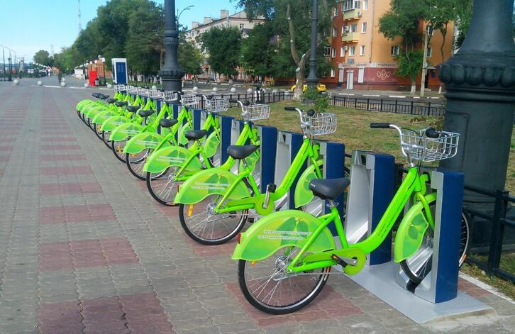 Жители Хэйхэ и Благовещенска смогут арендовать общественные велосипеды в двух городах по единой карте.