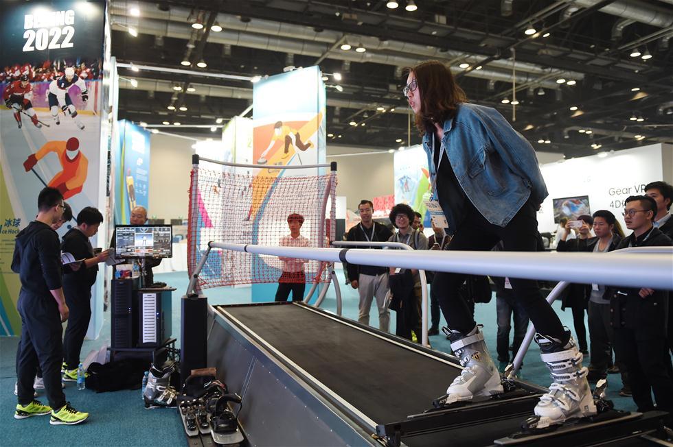 В Пекине прошла выставка товаров для зимних видов спорта