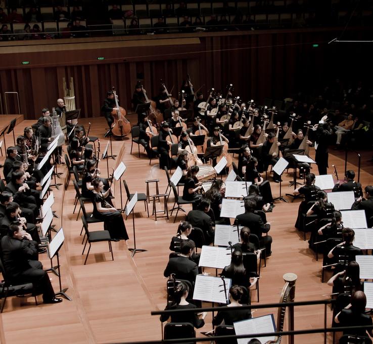 民乐团演出