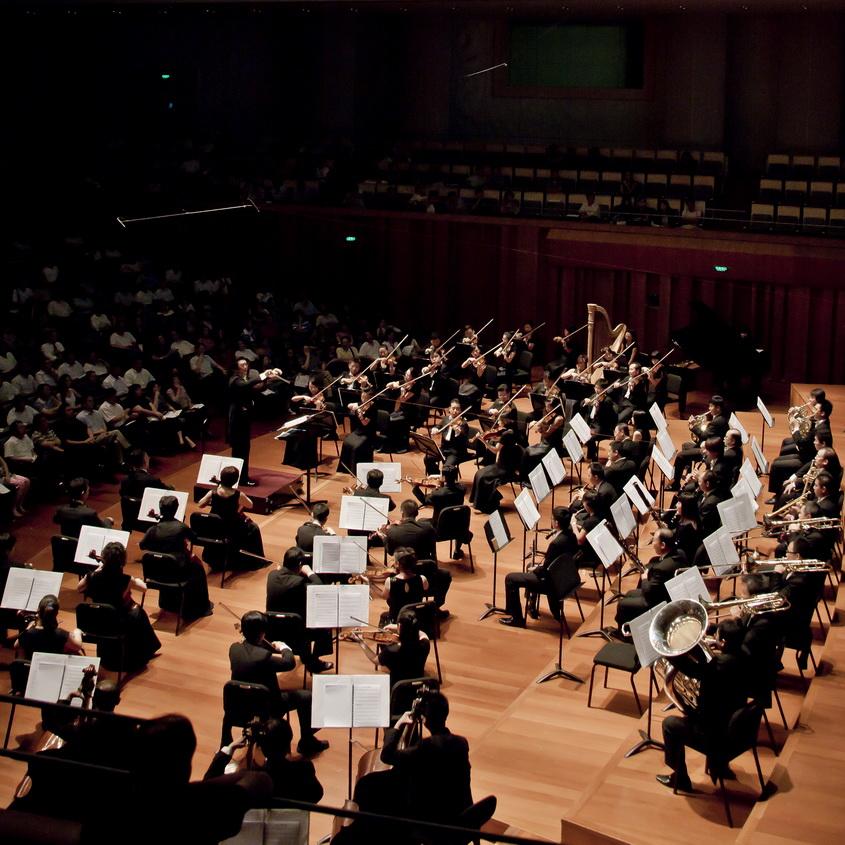 交响乐团演出
