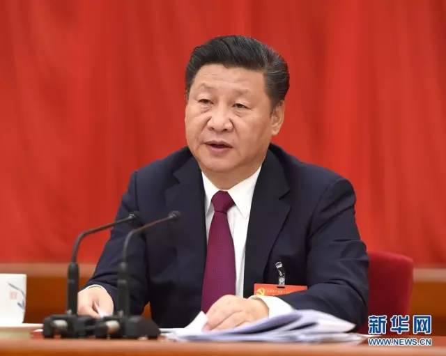 中国共产党第十八届中央委员会第六次全体会议,于2016年10月24日至27日在北京举行。中央委员会总书记习近平作重要讲话。 新华社记者李学仁 摄
