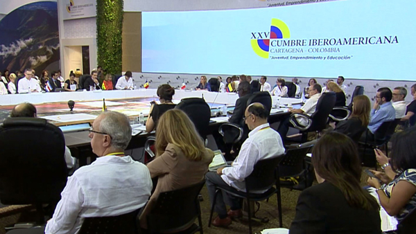 Crisis colombiana y venezolana eclipsan agenda