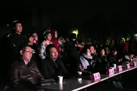音乐人李直出席北体大歌手大赛 意在打造校园好声音