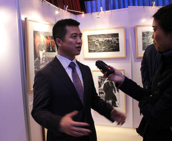 Сунь Тяньшу, Соорганизатор выставки, президент торговой интернет-платформы «Цифа»