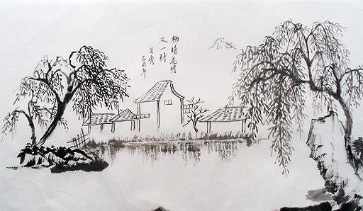 简笔画 手绘 素描 线稿 512_298