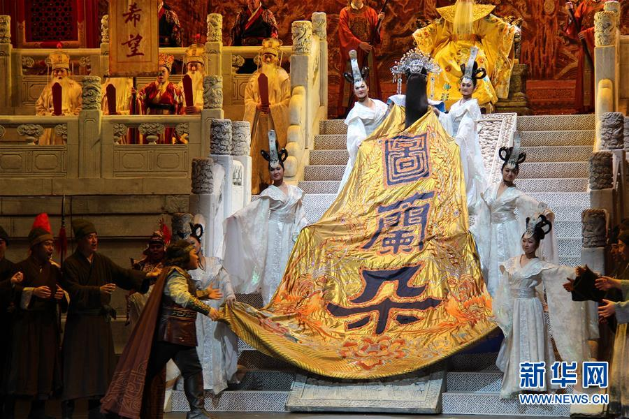 Artists from the China National Opera House have won over local audiences with their own interpretation of Giacomo Puccini
