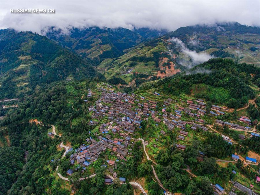 Осень в горах Юэляншань