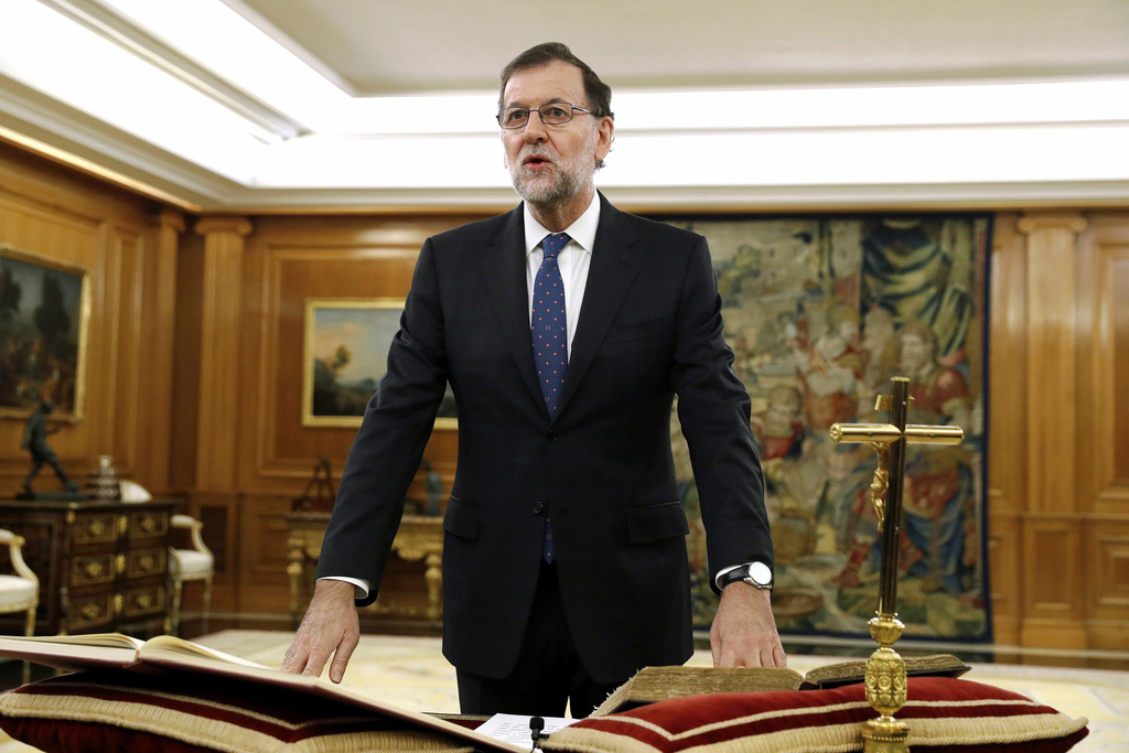 Mariano Rajoy jura como presidente del país